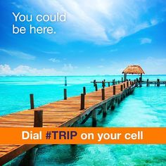 #TRIP. We're happy to announce that dialing these five digits on your cell will now connect you with your itravel2000 Travel Expert so much quicker than before! So go on dial #TRIP and you could be six seconds closer to your dream vacation. #vacation #itravel2000 #travel #Canada #instatravel #travelgram #paradise #beach #vacation