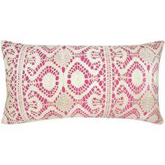 Crawford Cotton Lumbar Pillow