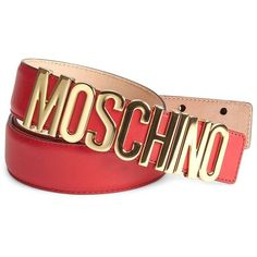 Moschino Logo Buckle Belt (400 CAD) ❤ liked on Polyvore featuring men's fashion, men's accessories, men's belts, men accessories - belts, mens belts and moschino mens belt Men's Belts, Men's Accessories, Belt Buckles, Moschino, Men's Fashion, Logo, Polyvore, Men Fashion, Man Fashion