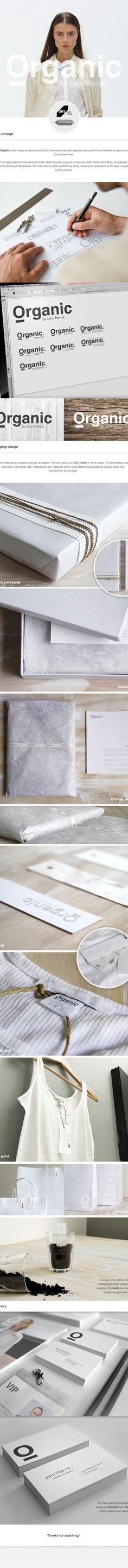 Organic by John Patrick - Packaging & Branding on Wacom Gallery