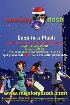 Media Agency Group Launches Monkeydosh Payday Loan Adverts In Time For Christmas | The Media Agency Group