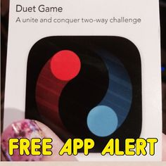 Get your cup of joe and a free app code from Starbucks for Duet Game. Gorgeous, mesmerizing visual tracking and planning game perfect for your middle and high schoolers in OT.  Would probably also be excellent for reward in speech. Sticks fall and you have to control and rotate a circle so the sticks pass through the cicle but does not hit two balls attached to your circle.  Has great reviews from just about everyone.  Cool relaxing music too.  #pediot  #occupationaltherapist  ...