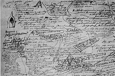 Fyodor Dostoevsky's handwriting