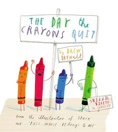 The Day the Crayons Quit by Drew Daywalt pictures by Oliver Jeffers: What an amazing mentor text for teaching young elementary students voice in persuasive writing! All of the crayons have issues with how Duncan is overusing or underusing them. Oliver Jeffers, Up Book, Book Art, Drew Daywalt, Notice And Note, Album Jeunesse, Persuasive Writing, Letter Writing, Opinion Writing