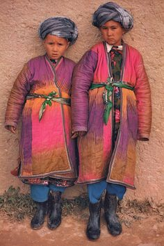 Travel Asian people Afghanistan children, Roland Michaud, Sabrina Michaud, portrait