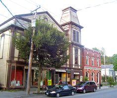 Cambridge Historic District in Washington County, New York.