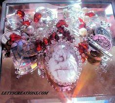 """Greatest Love"" Catholic Jesus Virgin Mary Saints Religious Medals Bracelet | eBay www.letyscreations.com #catholic #religious #jewelry #greatestlove"
