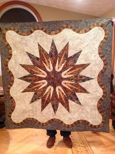 Vintage Compass, Quiltworx.com, Made by CI Donna Mather.