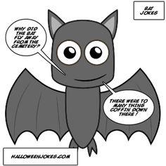 Black Bat Joke Comic - Halloween Jokes Halloween Jokes, Halloween Bats, Black Bat, Pikachu, Comics, Fictional Characters, Comic Books, Comic Book, Comic