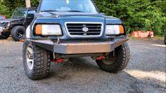 Suzuki Sidekick Sport custom bumper project