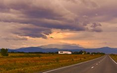 This picture is in public Doamain. The Sky And The Road by Larisa Larisa