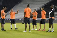 Supercoppa Italiana 2014 - Juventus vs. Napoli , walk around presso l'Al Sadd Jassim Bin Hamad Stadium