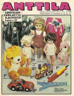 Anttilan Joululahjaluettelo 1969 Old Commercials, Magazine Articles, Teenage Years, Old Toys, Finland, Album Covers, Retro Vintage, Nostalgia, The Past