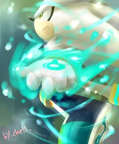 silver the hedgehog by chellchell.deviantart.com on @deviantART