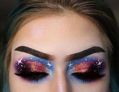 ⬅️ SWIPEEEE ⬅️ Feelin' unoriginal af so hoppin' on the cloud trend inspired by (idc if you're tired of seeing… ⬅️ SWIPEEEE ⬅️ Feelin' unoriginal af so hoppin' on the cloud trend inspired by NikkieTutorials (idc if you're tired of seeing… ❤️ Eye Makeup ❤️ Glam Makeup, Makeup Inspo, Makeup Art, Makeup Inspiration, Makeup Tips, Bright Makeup, Makeup Ideas, Creative Makeup Looks, Simple Makeup