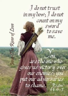 You are my victory!