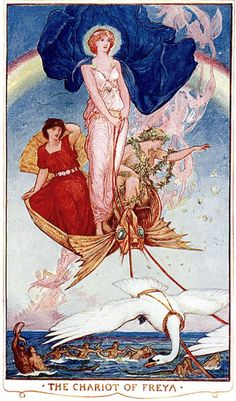 Art by H.J. Ford (1902) from THE BOOK OF ROMANCE.
