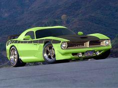 Viper-esque 2013 Dodge Barracuda Concept