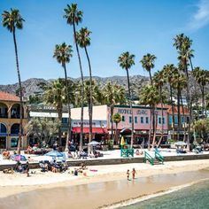 It's small in size—just 21 miles long and eight miles wide—but large with legend and romance. Set in the deep blue Pacific of the coast of Los Angeles, Catalina a glittering little island resort with rugged hills and intimate coves that have lured movie stars and musicians for generations. Some even call it America's Capri. Coastalliving.com