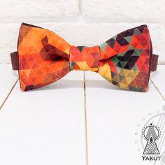Bow Tie Wild West Bowtie Creative bow tie Ginger от BowTieYAKUT