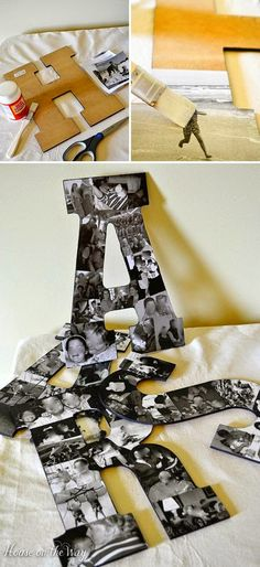 DIY PROJECTS WITH LETTERS