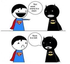 Batman wins!