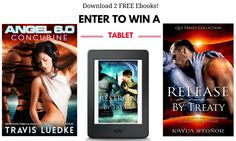 Instantly download two bestselling Scifi Romance ebooks and enter to win a Kindle Tablet!