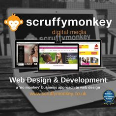 Busy times at Scruffymonkey HQ. Websites on the go for #charities #schools #healthcare #playcentres #communitygroups to name a few #web #webdesign #website #bolton
