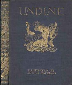 Undine (cover), Arthur Rackham, 1909