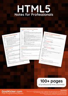 HTML5 book