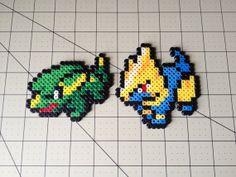 Pokemon Bead Sprite Set  Electrike Family by ToughTurtles on Etsy, $5.50