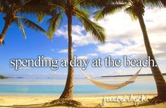 spending a day at the beach #justgirlythings