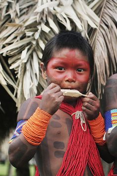 The Kayapo (Portuguese: Caiapó) people are the Gê-speaking Indigenous population of the plain lands of the Mato Grosso and Pará in Brazil, south of the Amazon Basin and along Rio Xingu and its tributaries. They call...  Learn more about the Kayapo and other Indigenous Peoples around the world