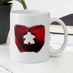 Is the Iron Meeple mug full of irony? Morning Coffee, Drinking, Iron, Ceramics, Tea, Mugs, Tableware, Ceramica, Beverage