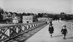 The pier, English Bay, Vancouver, B. - City of Vancouver Archives Vancouver City, Vancouver Island, Iconic Photos, Old Photos, Seymour, Quebec City, Local History, Historical Pictures, Quebec