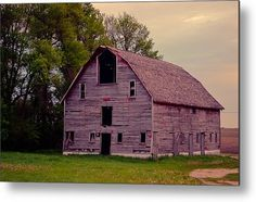 Forgotten Barn Metal Print By Bonfire #Photography