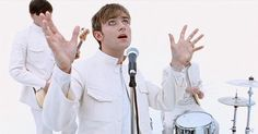 Find images and videos about music video, blur and damon albarn on We Heart It - the app to get lost in what you love. Damon Albarn, Jonathan Glazer, Blur Band, Great Music Videos, Jamie Hewlett, Britpop, Teenager, The Way You Are, Gorillaz