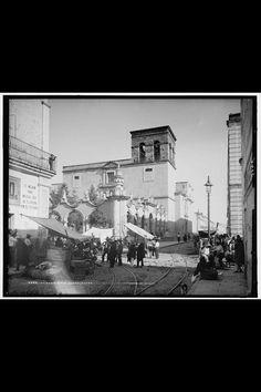 Tianguis de la Merced - 1900