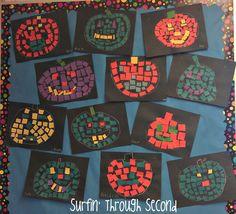Mosaic Pumpkins