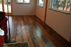 Antique barnboard oak flooring from a recent project in California.