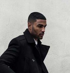 Black Mens Short Hairstyle
