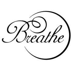 ╰✿Respire profundo, breathe deeplyॐ