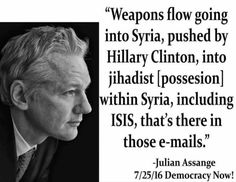 WIKILEAKS Proves TRUMP IS RIGHT: Hacked Emails Include Info On Hillary's Arming…