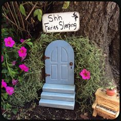 I am in love with my new fairy doors! Two new styles have been added! Check out the ones with a window!