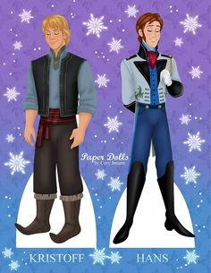 Free Frozen Paper Doll Part 6 of 8