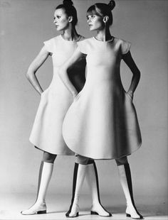 Pierre Cardin, haute-couture.