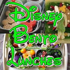 Bento of the Week: Disney Bento Lunches