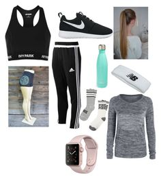 """the gym"" by paigey16 on Polyvore featuring Topshop, NIKE, adidas, New Balance and S'well"