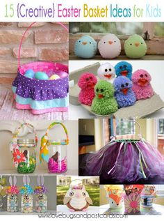 15 creative easter basket ideas for kids and teens jars 15 creative easter basket ideas for kids negle Images