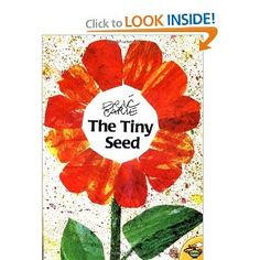 """Simple Speech--""""The Tiny Seed"""" by Eric Carle  -  Pinned by @PediaStaff – Please Visit http://ht.ly/63sNt for all our pediatric therapy pins"""